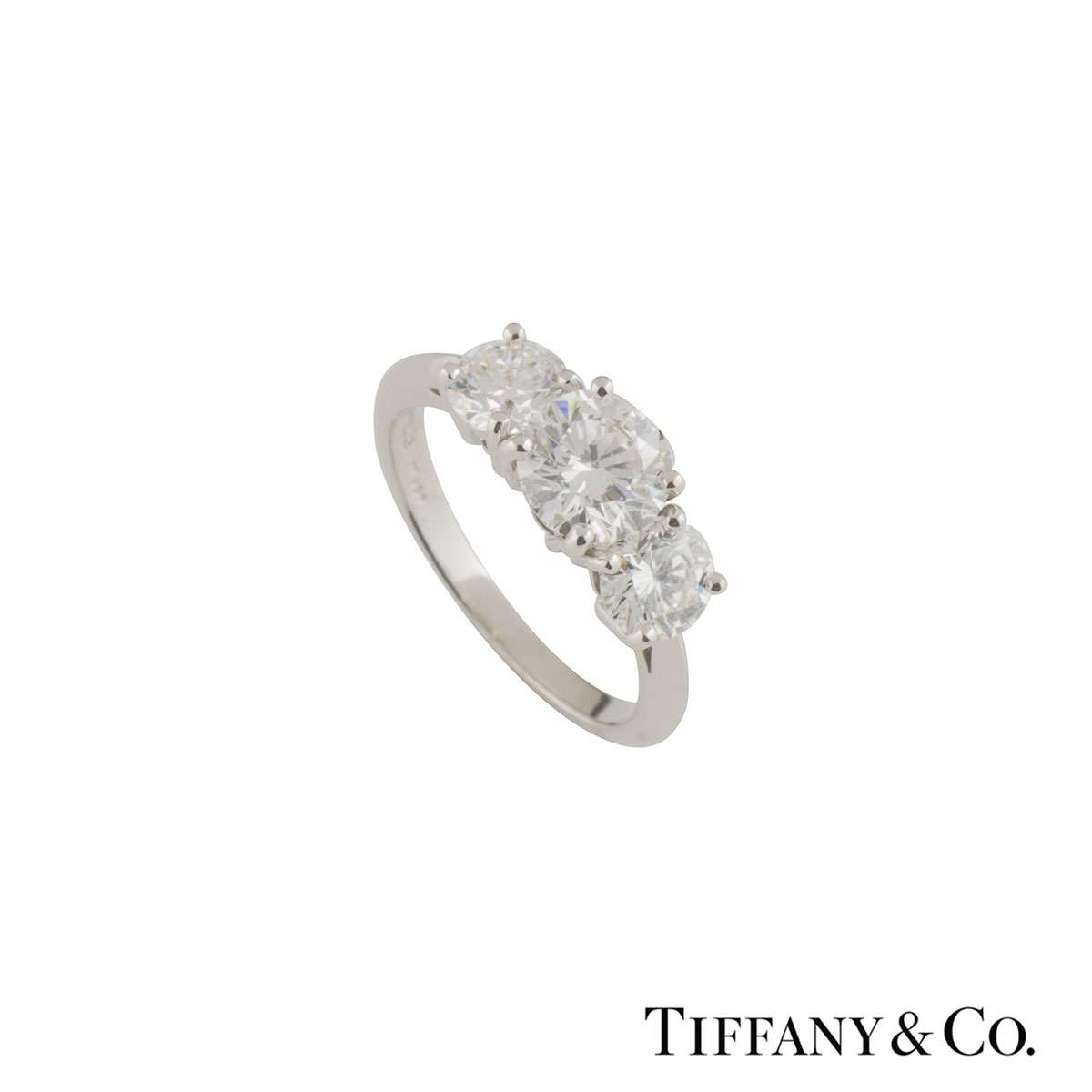 Tiffany & Co Diamond Trilogy Ring